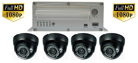 FHD4G High Definition school bus security surveillance camera system