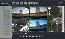 SD4D GUI Quad Screen Sat Map viewlow cost Pupil transportation child safety and security onboard vehicle video camera observation systems