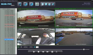SD4D low cost Driver Safety Surveillance Vehicle Digital Expert Witness w/Quad view w/sherrif car School bus bully video surveillance expert witness video observation video evidence cameras for school buses