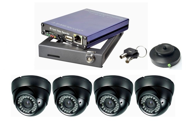 SD4m bus video system with vandal cameras