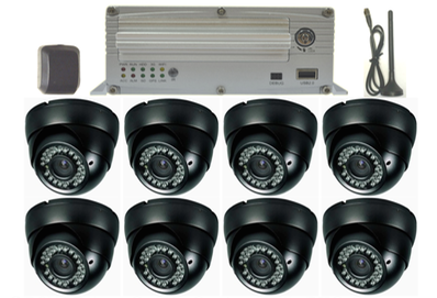 SD8W Wi-Fi & GPS 8 BTC camera surveillance camera solution for transit, paratransit or school bus