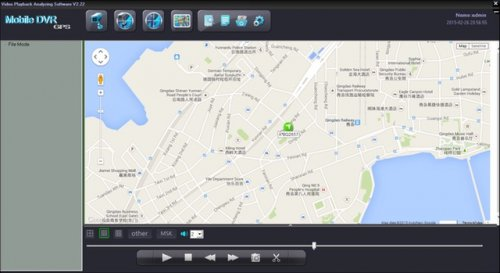 SD4C & SD8C Live GPS mapping, location speed and on screen routing history