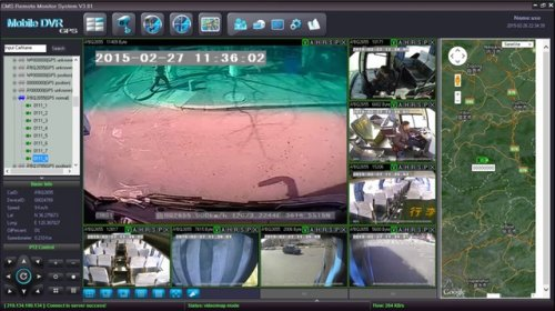 SD8C 3G Live View City Metro Transit Bus with live GPS tracking, geo-fencing, live driver talk low resolution streaming video screenshot 5