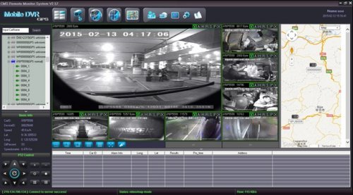 SD8C 3G version City Metro Transit bus Live View Video Streaming 3G cellular live GPS tracking surveillance system