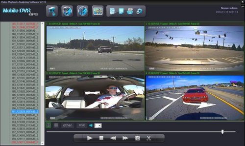 SD4D Camera Test Cam1 12mm PD, Cam 2 ExCAM, Cam3 ExCAm Cam4 PD cam Low cost mobile video surveillance camera system solution for onboard vehicle solutions