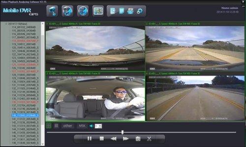 SD4D Camera test Cam1-PD Forward View, Cam2-ExCAM Forward View, Cam3-PD Driver, Cam4 ExCAM Rear best value mobile video surveillance camera system solution for onboard vehicle video camera solutions
