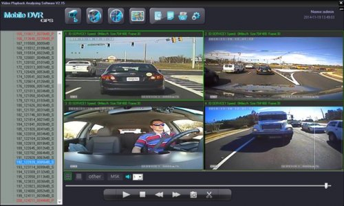 SD4D Camera Test Cam1 12mm PD, Cam 2 ExCAM, Cam3 ExCAm Cam4 PD cam Active Alerts to help reduce Dangerous Driving Behaviors and promote Eco Driving for fuel savings up to 25%
