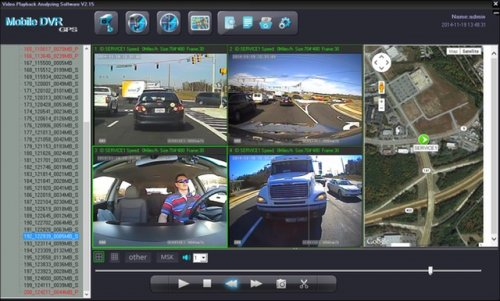 SD4D Camera Test Cam1 12mm PD, Cam 2 ExCAM, Cam3 ExCAm Cam4 PD cam fleet driver risk management via video event driver safety recorder to lower risk and reduce fuel costs