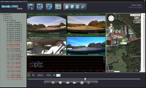 SD4D Gui Quad sat map, G-Sensors routing view document Dangerous Driving Behaviors, driver safety camera, passenger safety security surveillance camera systems