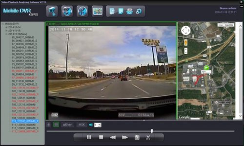 SD4D GUI Road Camera Full Screen w/ Sat Map view low cost Student transportation child safety and security onboard vehicle video camera observation systems