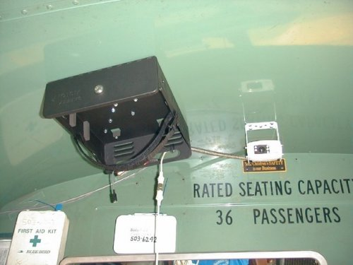 bus video camera OSI171