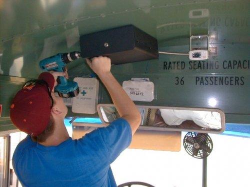 bus video camera OSI173
