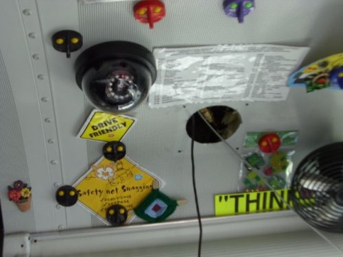 bus video camera OSI219