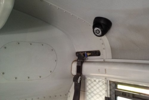 public school bus bully security camera system lift camera