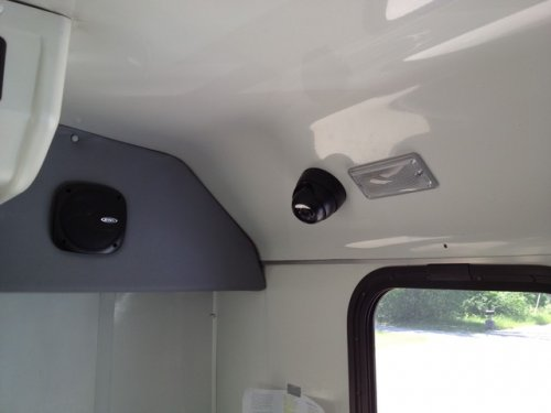 public transit security camera system keep cam away from ac unit